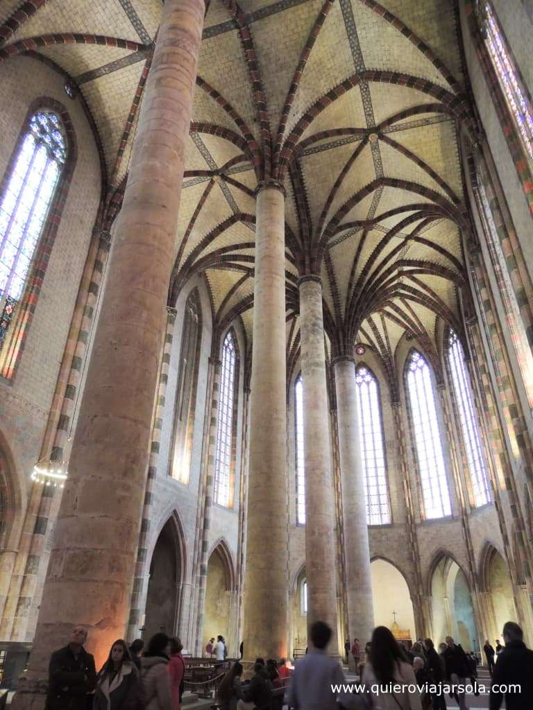 Viajar sola a Toulouse, convento de los Jacobinos