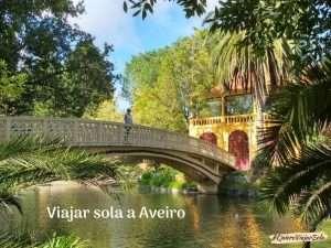 Viajar sola a Aveiro