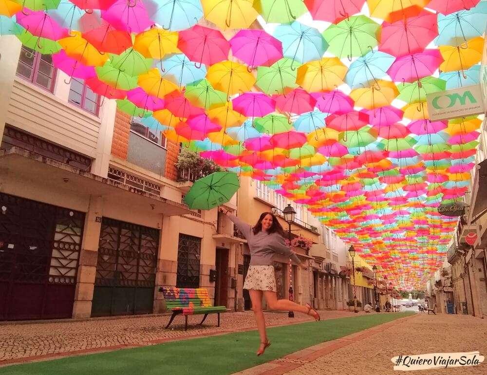 Viajar sola a Aveiro, Agueda