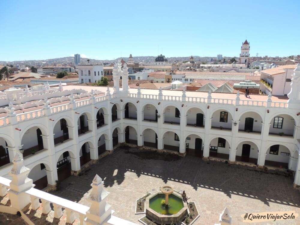 Viajar sola a Bolivia, Sucre