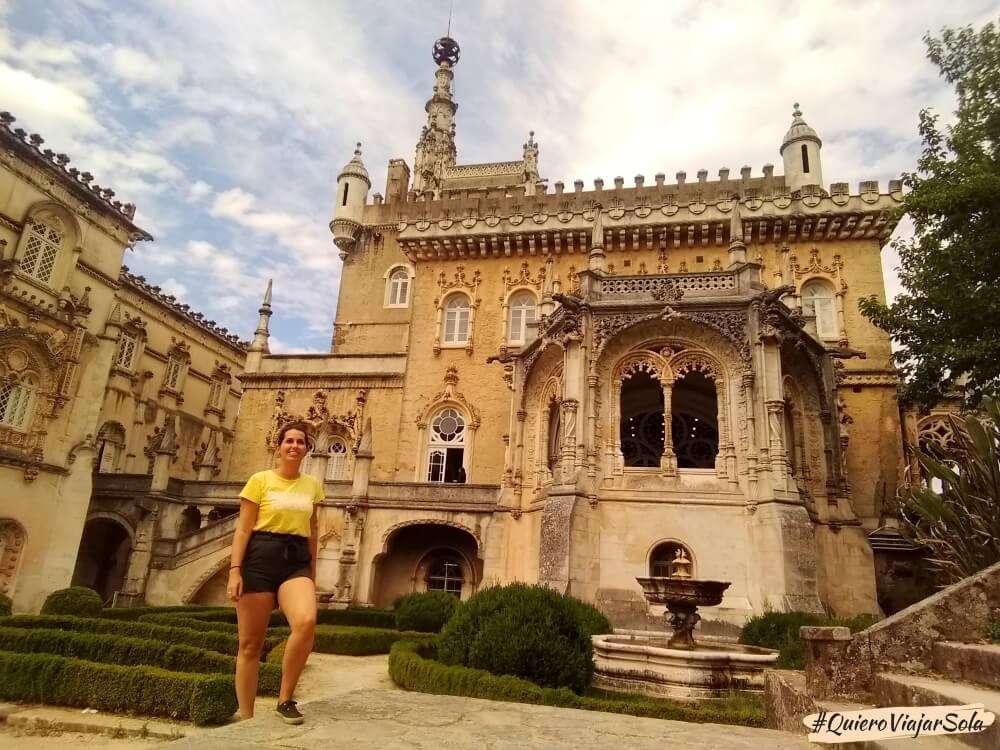 Viajar sola a Coimbra, Luso