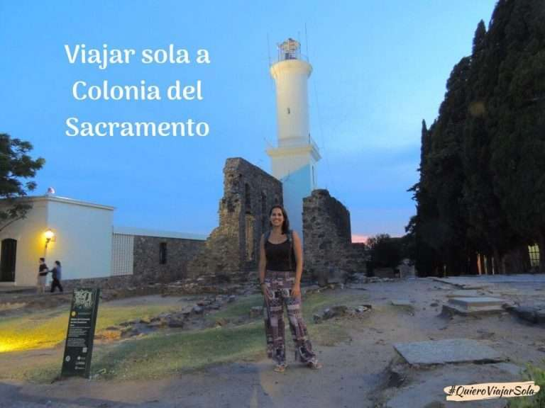 Viajar sola a Colonia del Sacramento