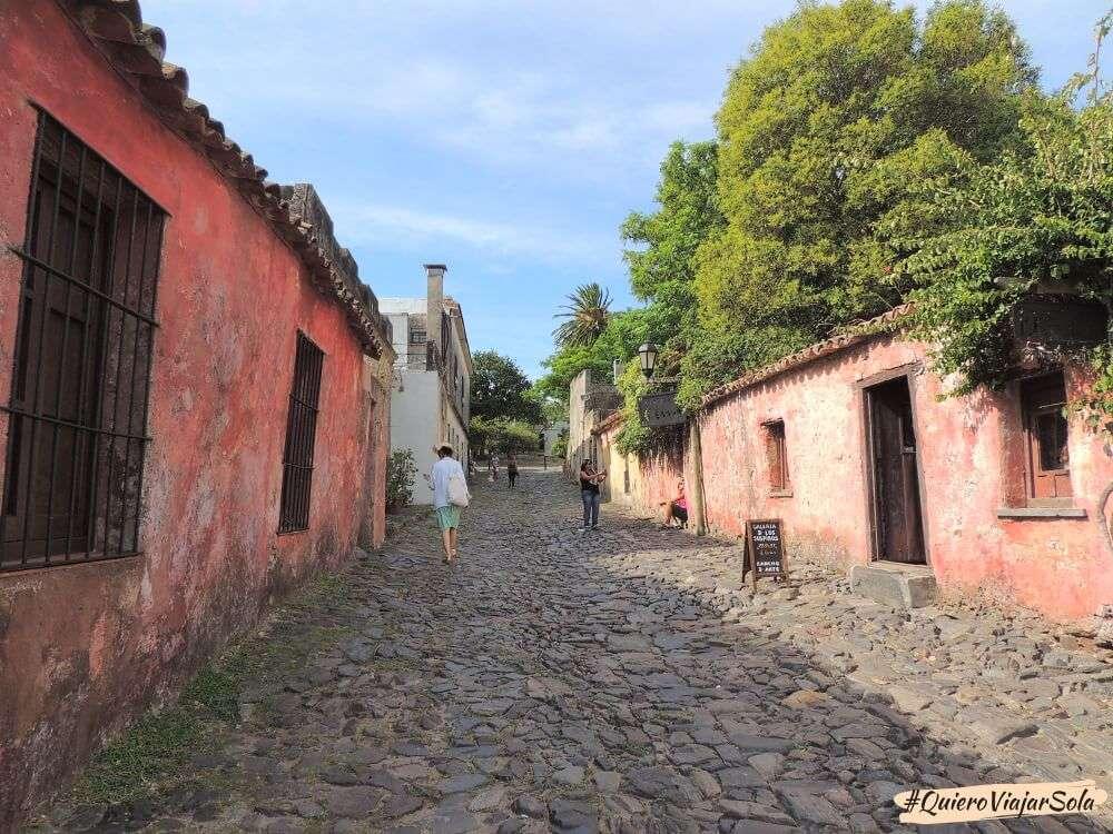 Viajar sola a Uruguay, Colonia del Sacramento