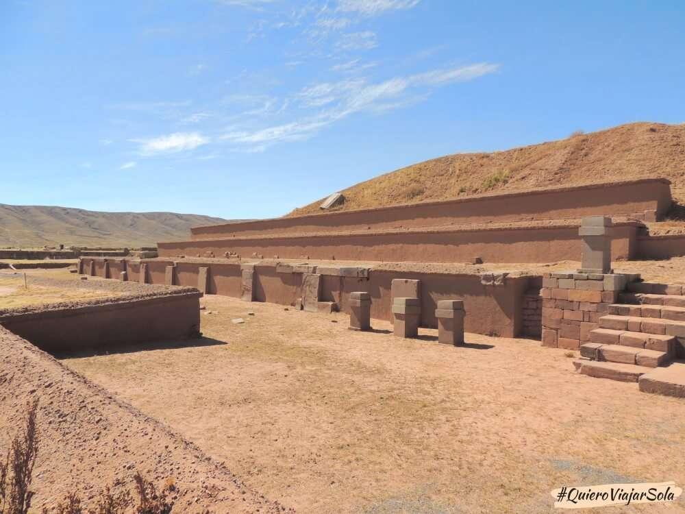 Viajar sola a La Paz, Tiwanaku