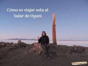 Cómo es viajar sola al Salar de Uyuni
