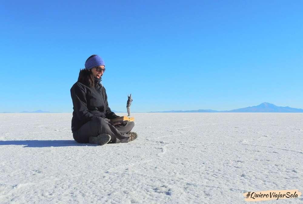 Viajar sola al Salar de Uyuni
