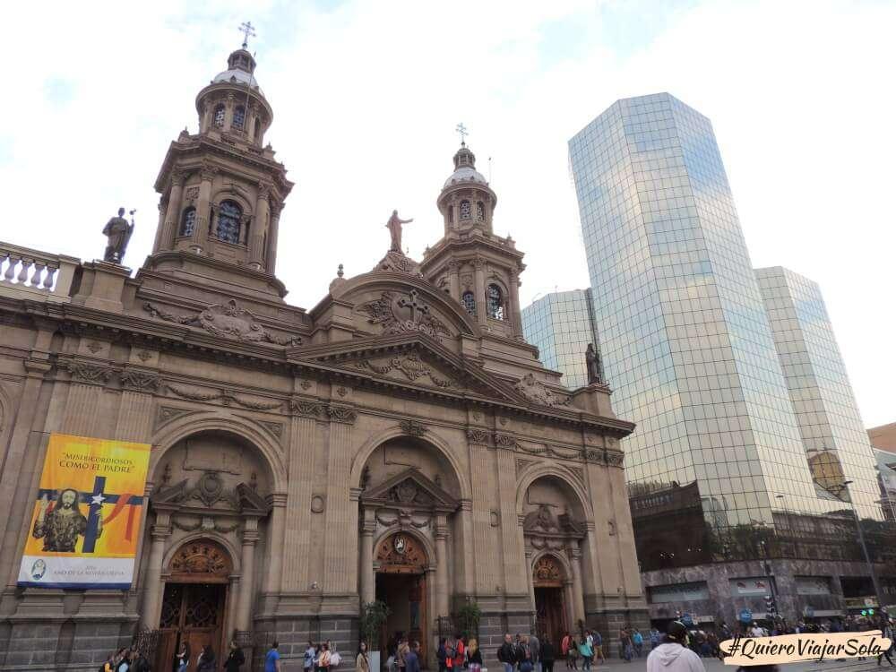 Viajar sola a Santiago de Chile, contrastes