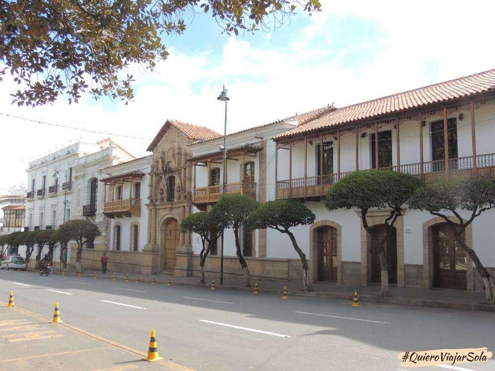 Viajar sola a Sucre - Casa de la Libertad