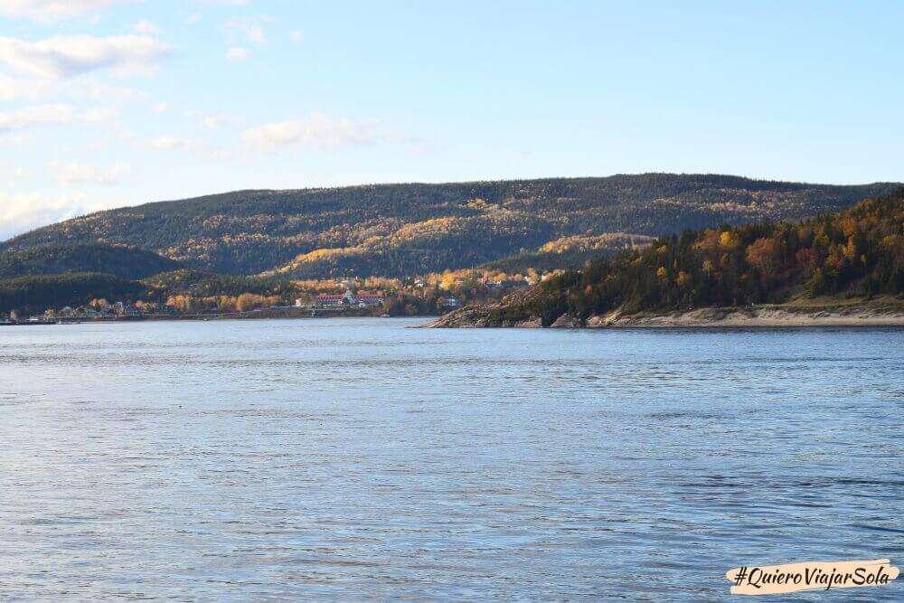 Ballenas en Quebec, Tadoussac