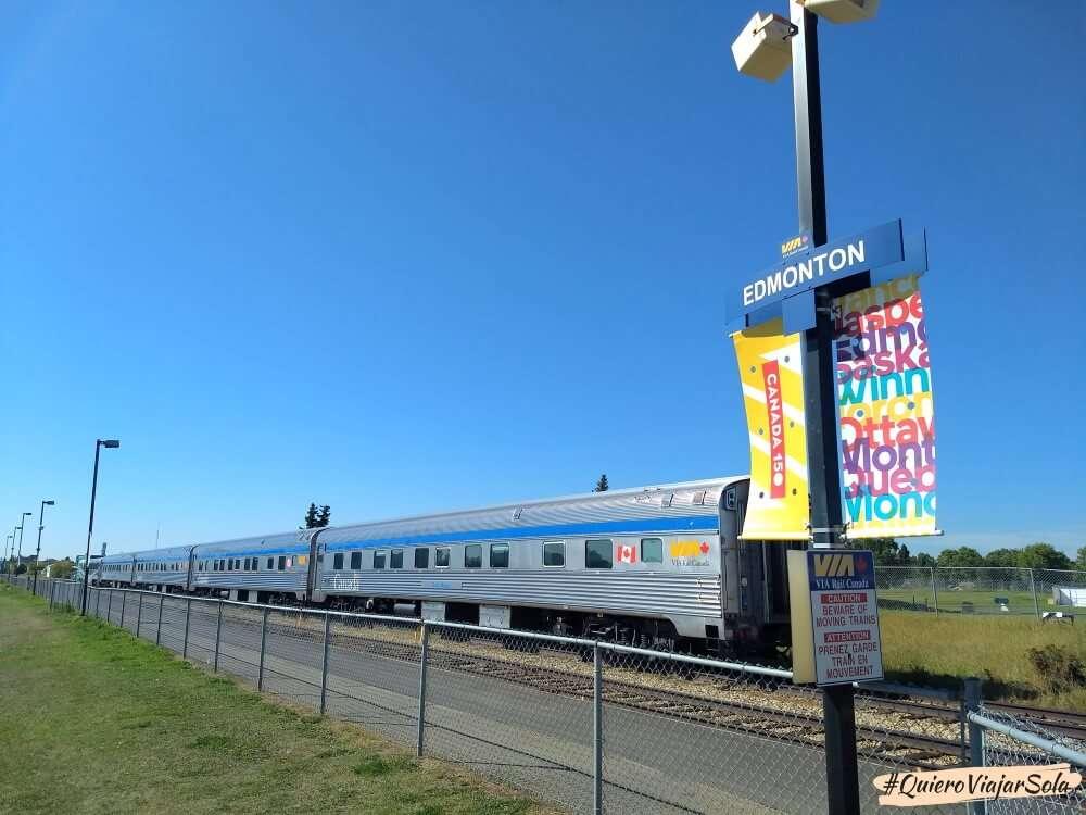 Cómo moverte por Canadá, tren
