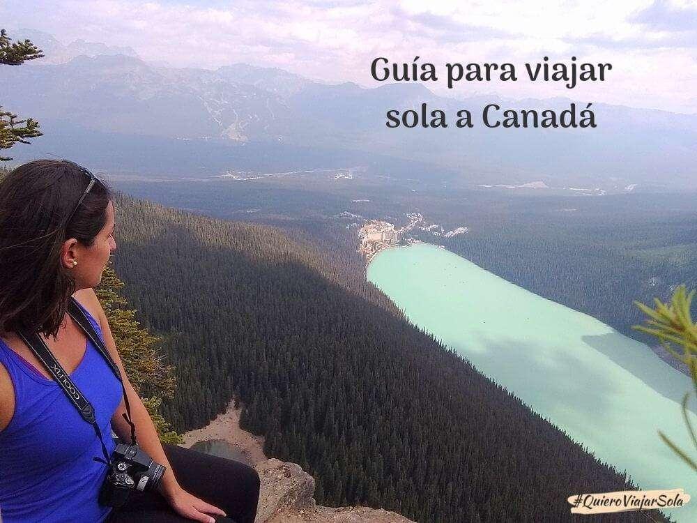 Viajar sola a Canadá