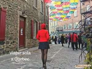 Viajar sola a Quebec, la ciudad más bonita de Canadá