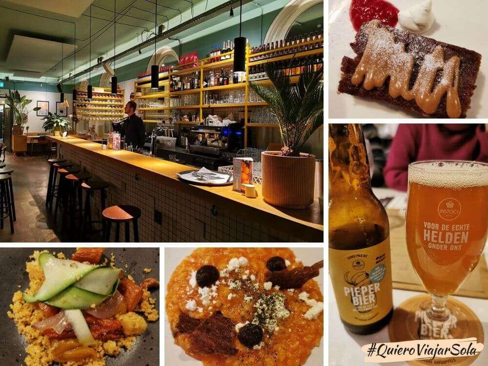 Restaurante Instock en Ámsterdam