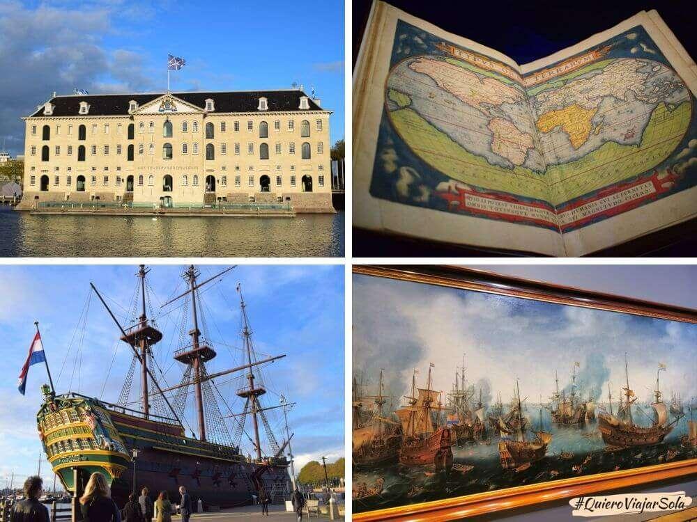 Museo Marítimo Nacional en Ámsterdam