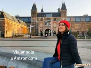 Viajar sola a Ámsterdam