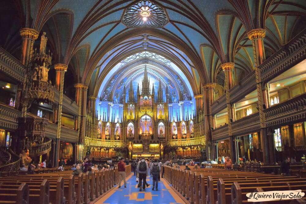 VIajar sola a Montreal, Notre Dame