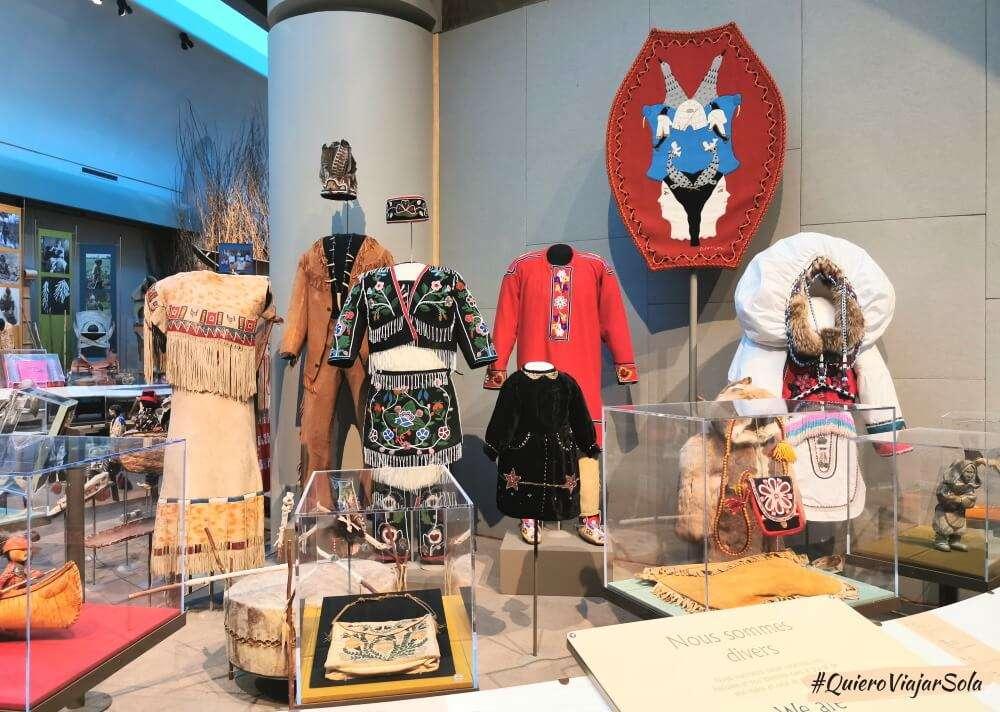 Viajar sola a Ottawa, Museo Canadiense de Historia