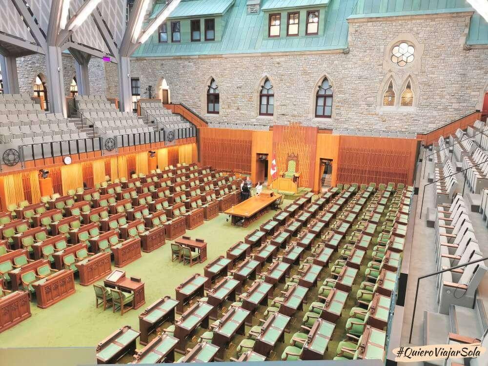 Parlamento de Canadá en Ottawa
