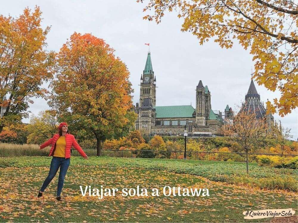 Viajar sola a Ottawa, la capital de Canadá
