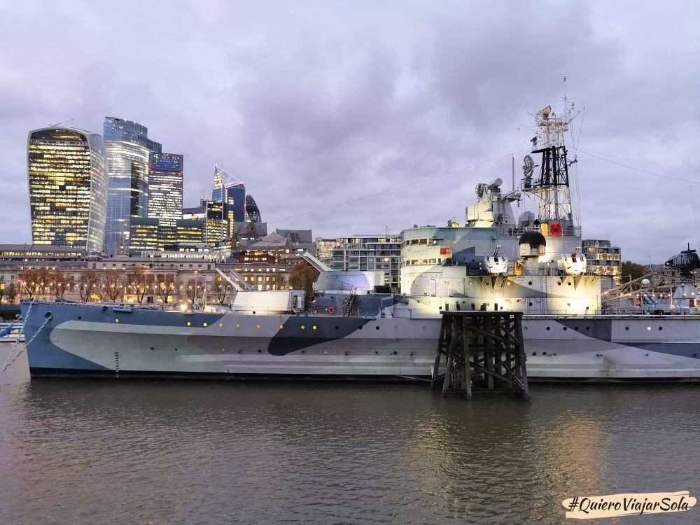 Que hacer en Londres, HMS Belfast