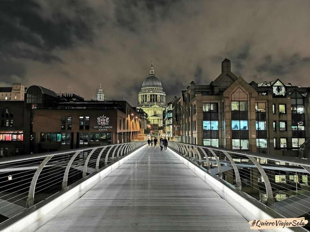 Que hacer en Londres, Millenium Bridge