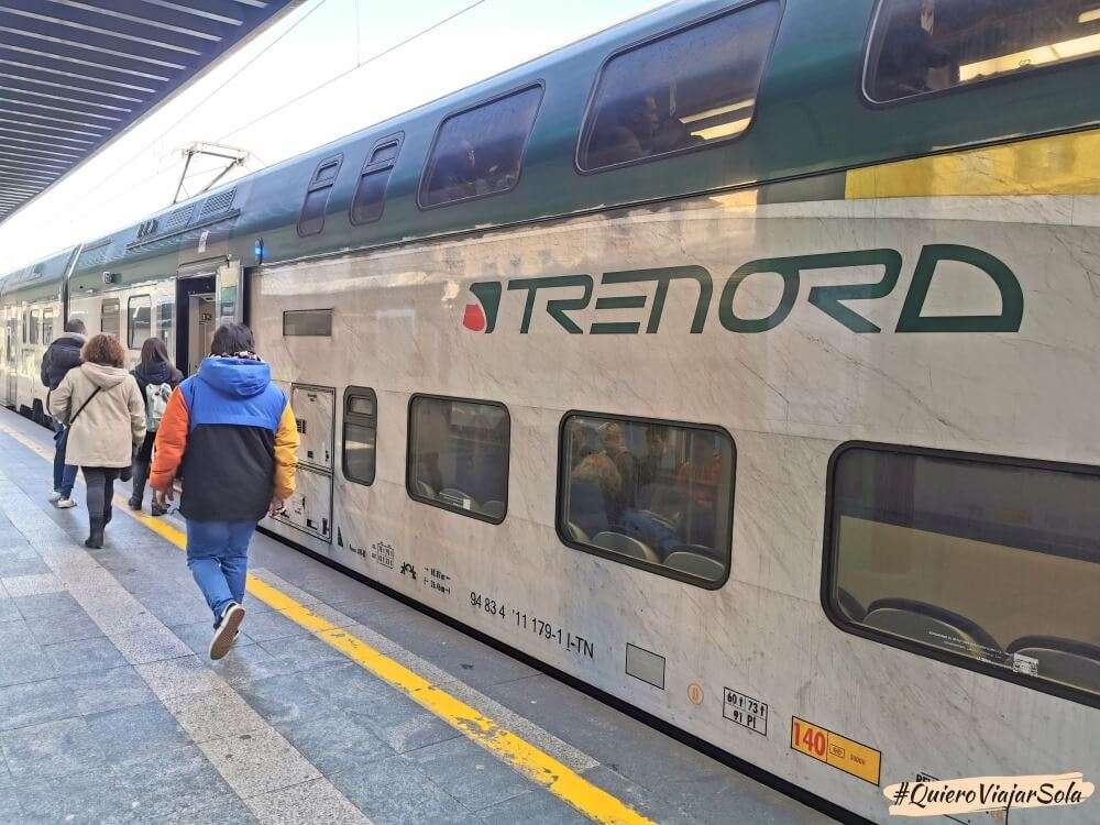 Cómo ir al Lago di Como, tren