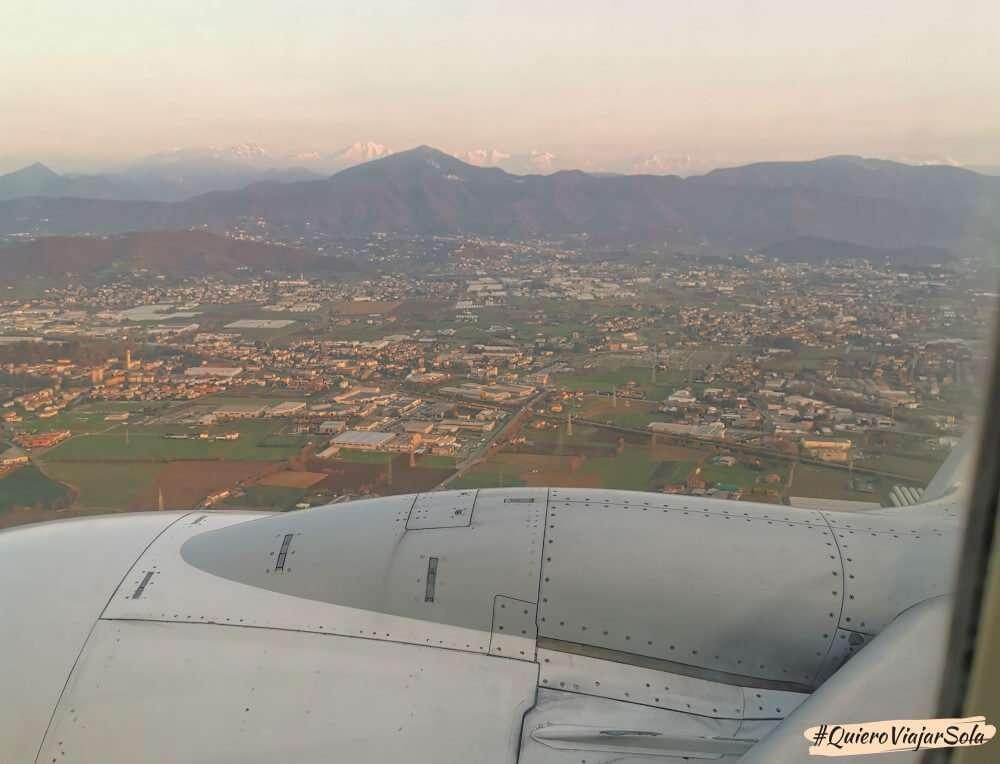Cómo llegar a Milán, avión