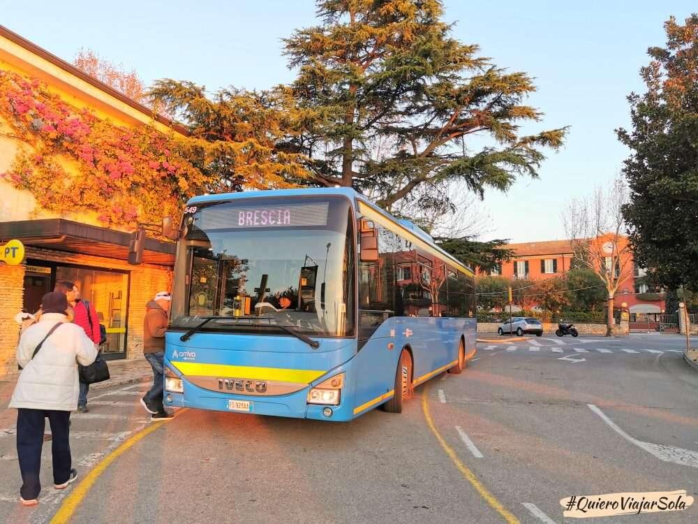 Ir a Sirmione en autobús