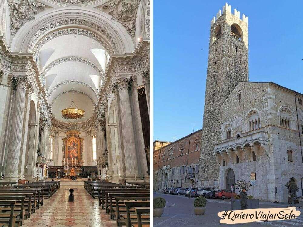 Un día en Brescia, piazza del Duomo