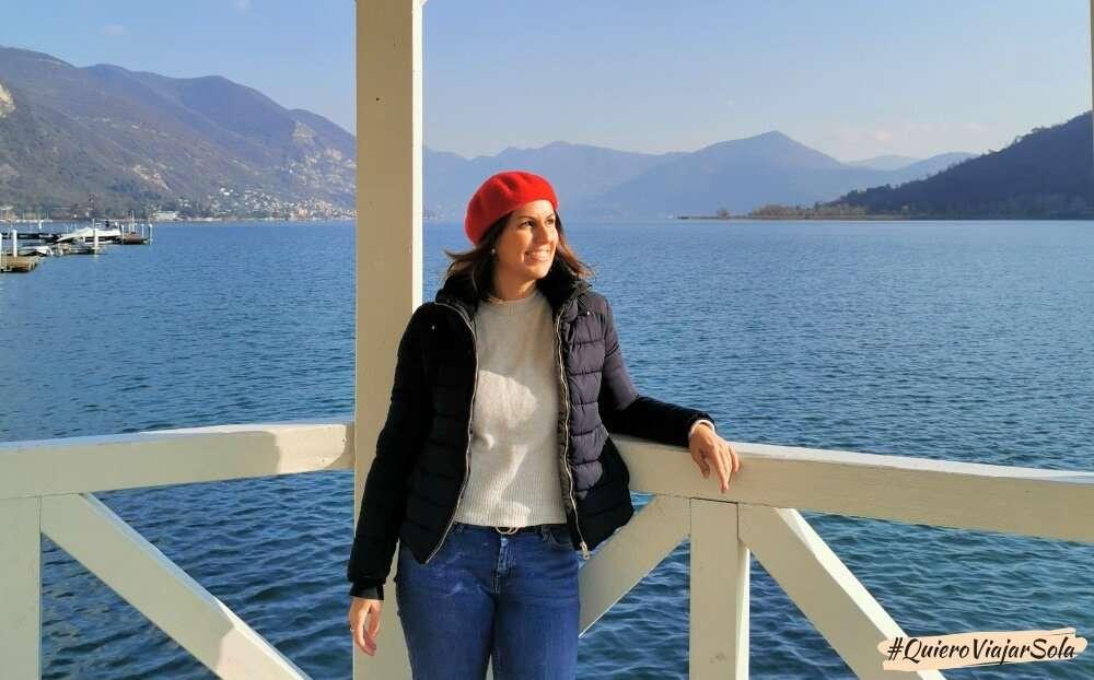 Viajar sola a Bérgamo, lago d'Iseo