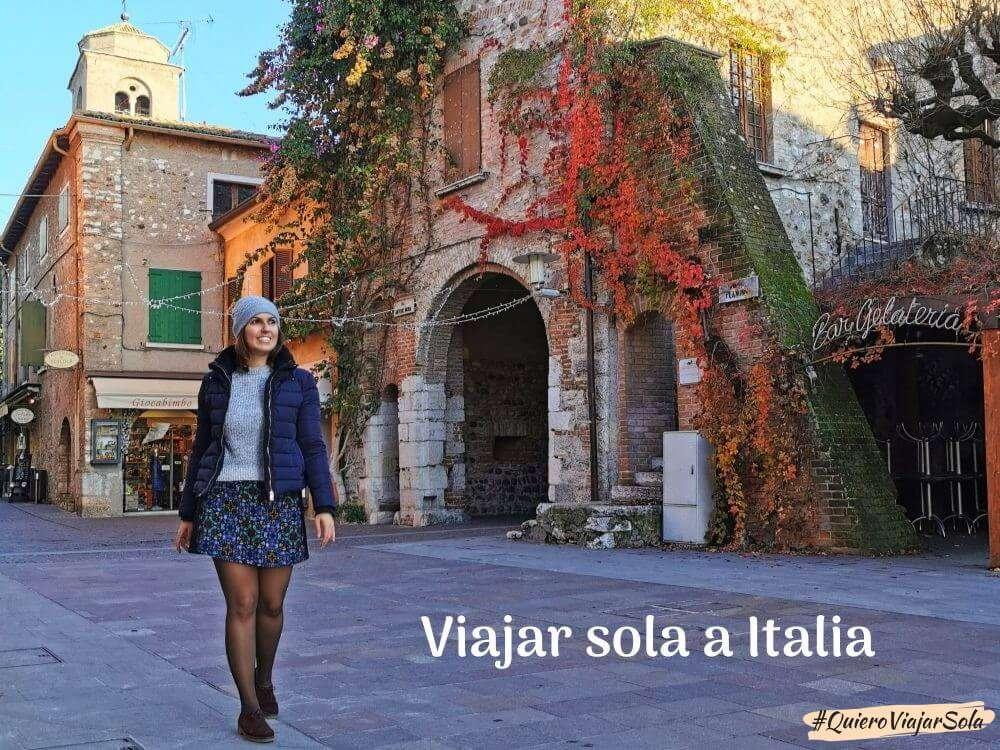 Guía para viajar sola a Italia
