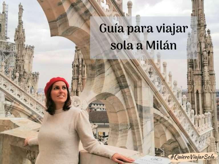 Viajar sola a Milán