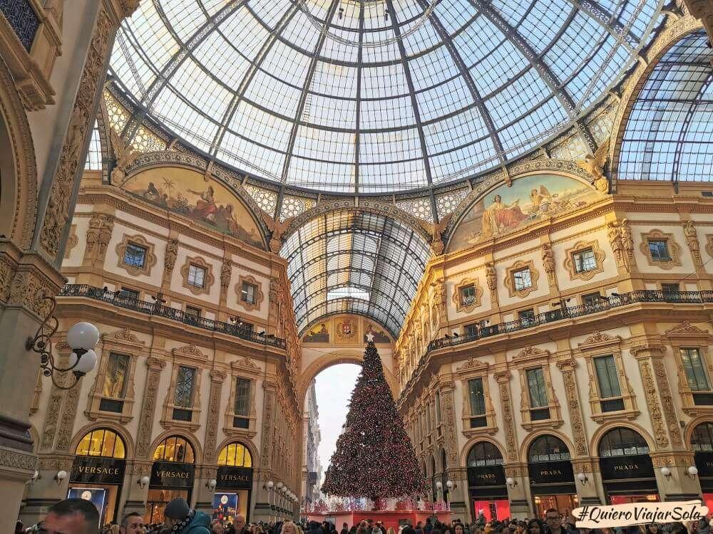 Viajar sola a Milán, Galería Vittorio Emanuele II