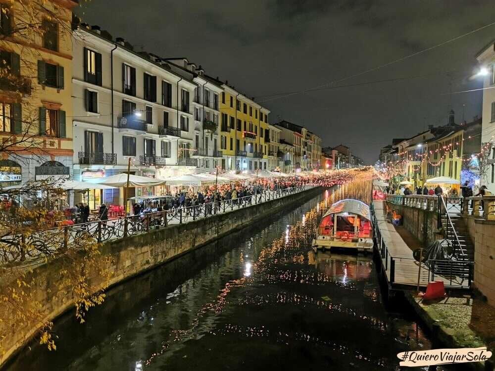Viajar sola a Milán, Navigli