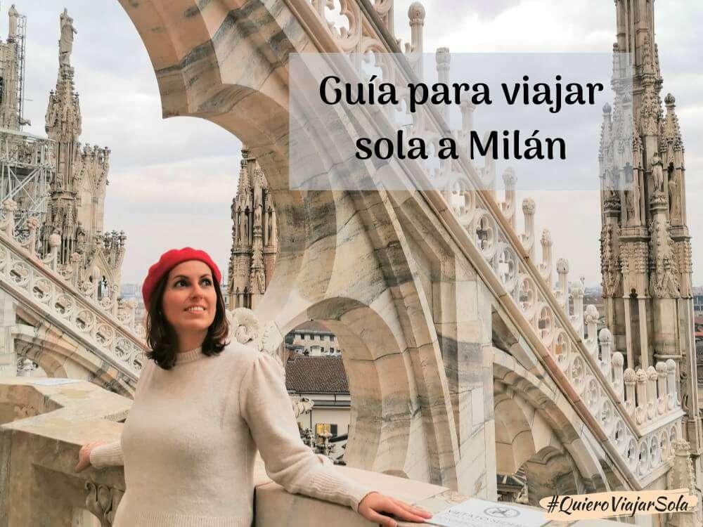 Viajar sola a Milán: la escapada perfecta