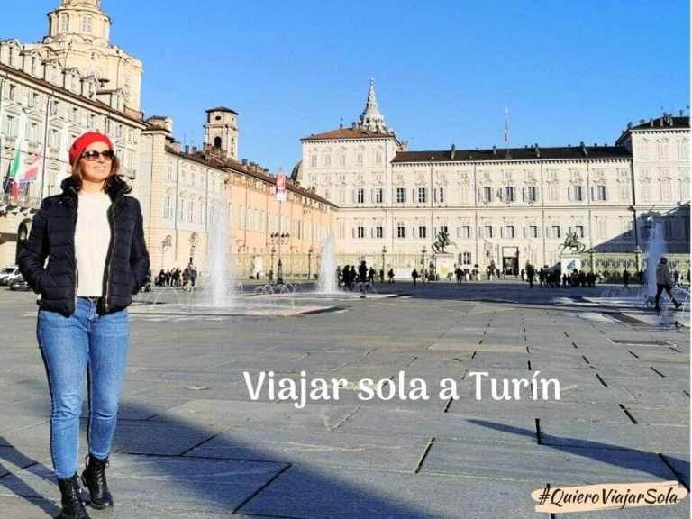 Viajar sola a Turín