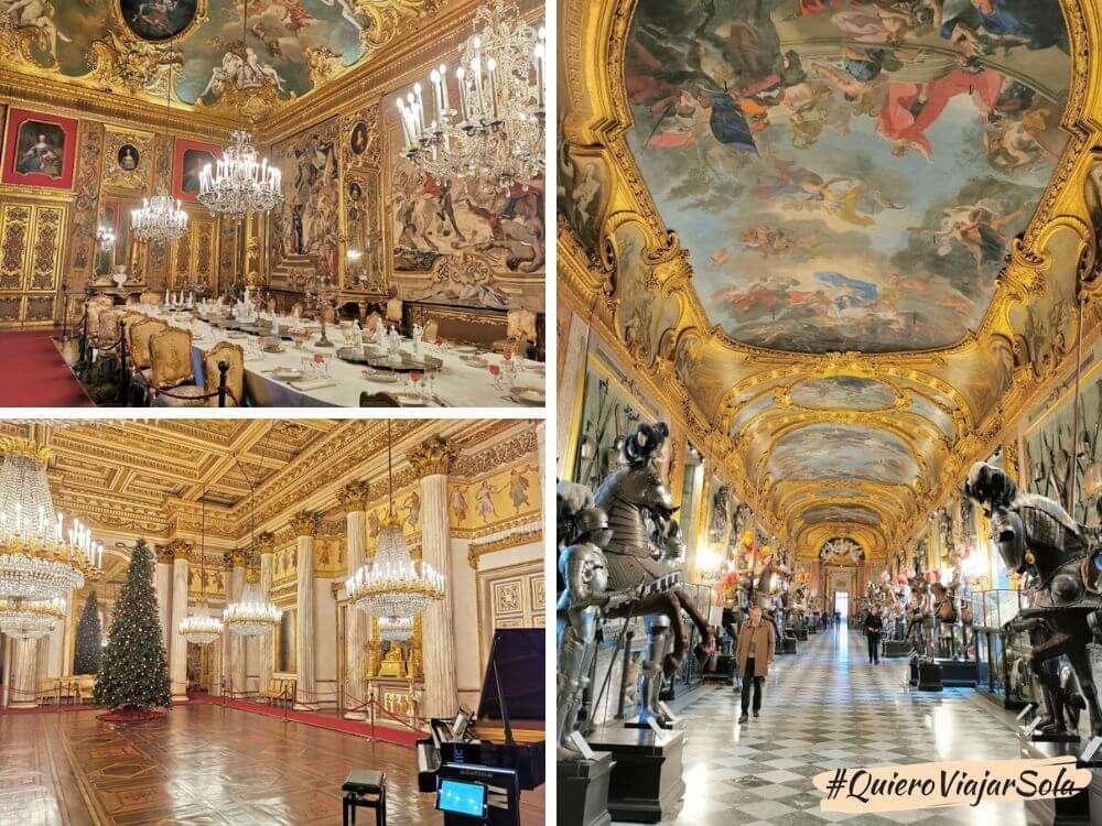 Viajar sola a Turín, Palacio Real