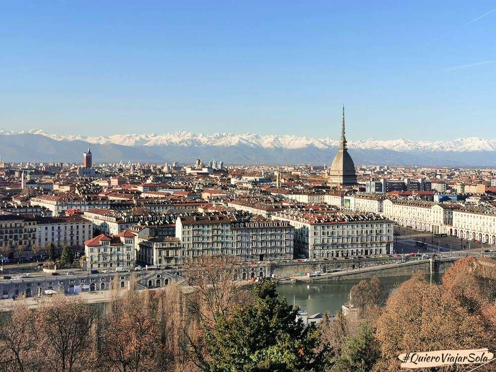 Viajar sola a Turín, mirador Capuccini