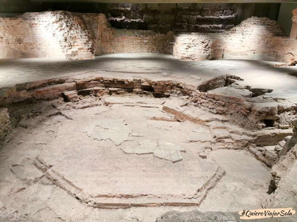 Visitar el Duomo de Milán, área arqueológica