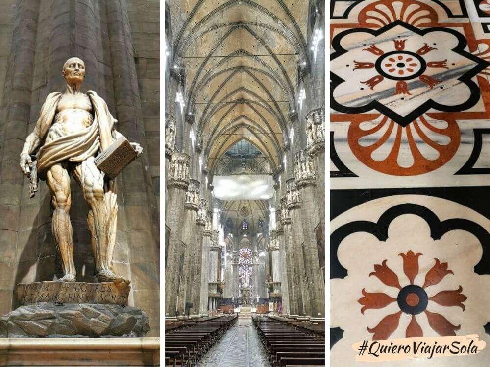 Visitar el Duomo de Milán, Catedral