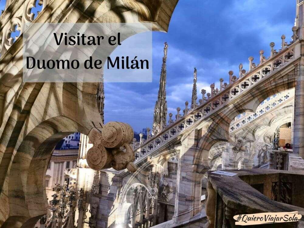 Información para visitar el Duomo de Milán