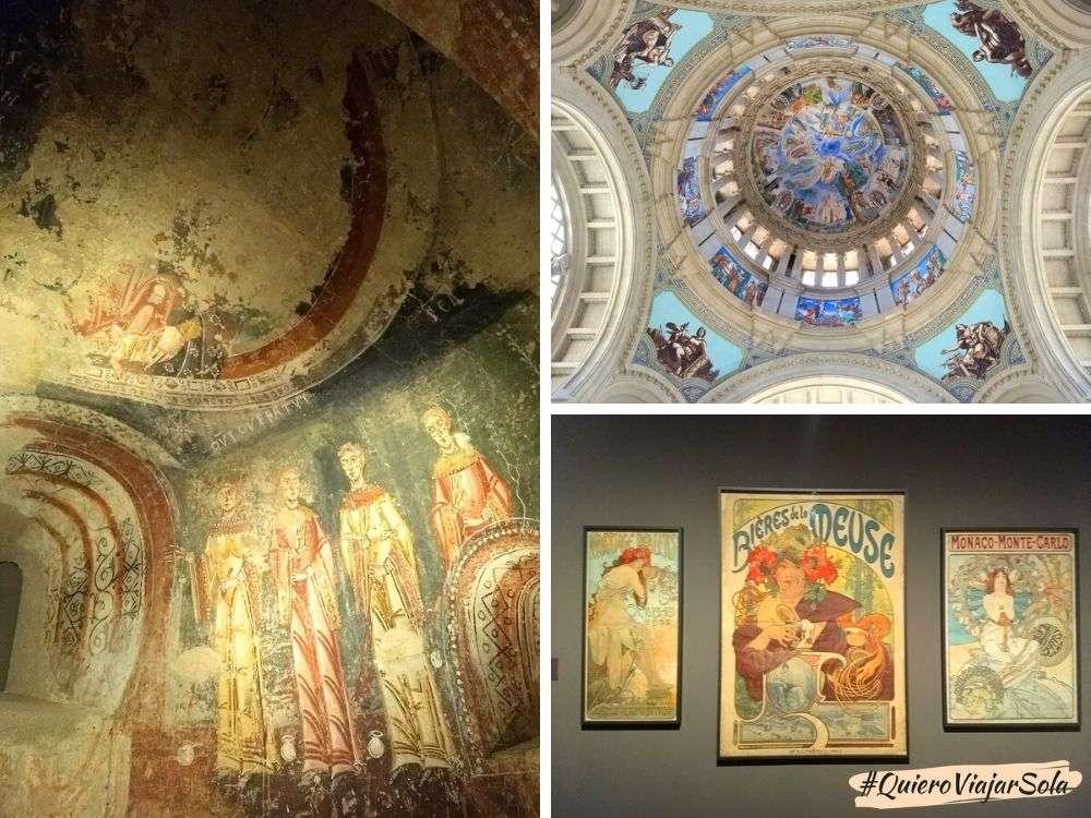 Un día en Montjuic, Museo Nacional de Arte de Cataluña