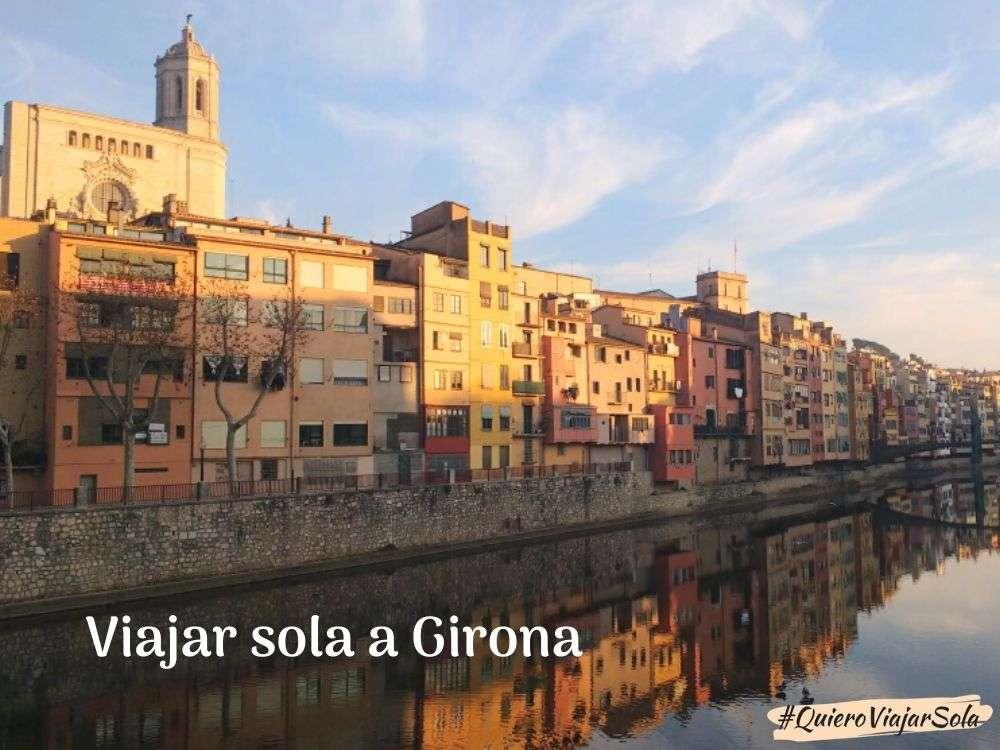 Viajar sola a Girona