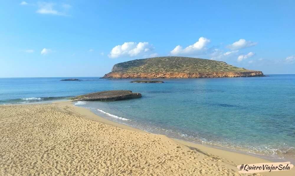 Viajar sola a Ibiza, Cala Comte