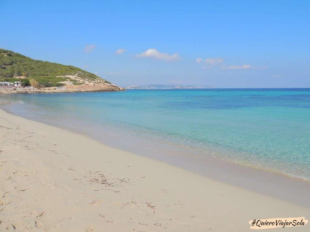 Viajar sola a Ibiza, des Cavallet