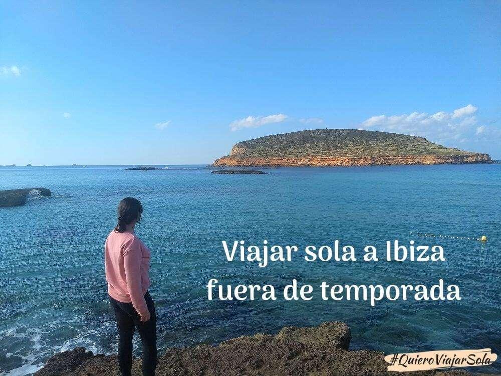 Viajar sola a Ibiza en temporada baja