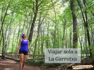 Viajar sola a La Garrotxa, zona de volcanes y hayedos