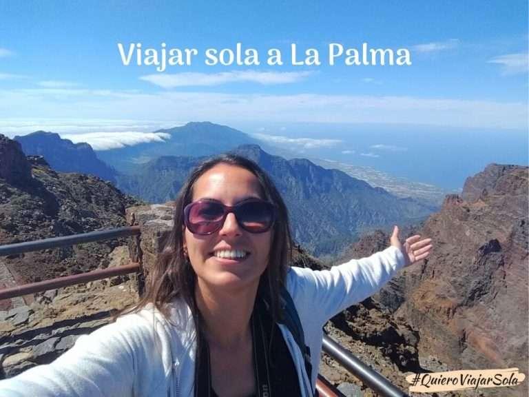 Viajar sola a La Palma