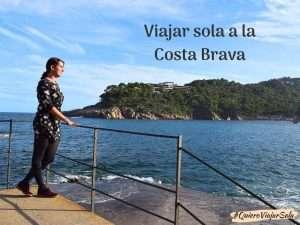 Guía para viajar sola a la Costa Brava
