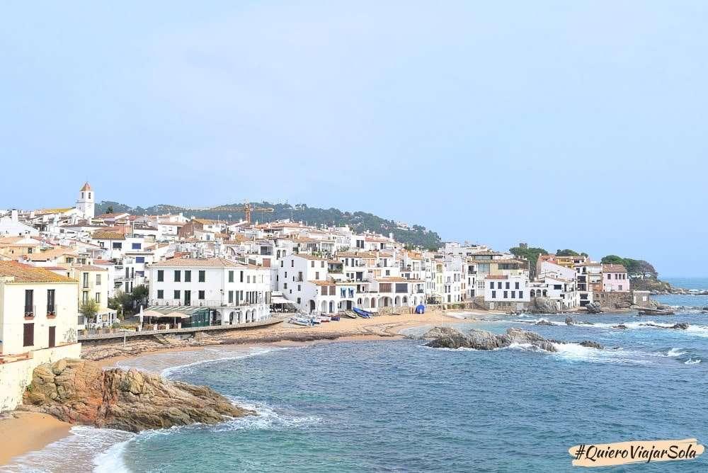Viajar sola a la Costa Brava, Calella de Palafrugell